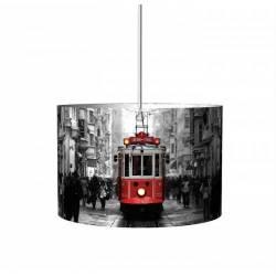 Beyoglu Tram Droop Lamp Chandelier