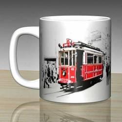 Istanbul Taksim tram Cup Ceramic Mug