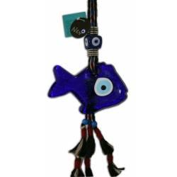 Big Evil Eye Wall Tattoos ( Fish )
