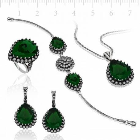 Roxelana Authentic Silver Hurrem Set