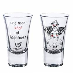 Double Shot Glasses Cats