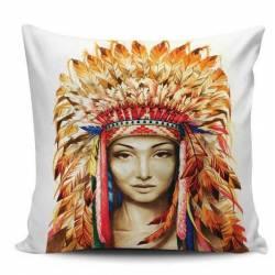 Indian Women Decorative Pillow