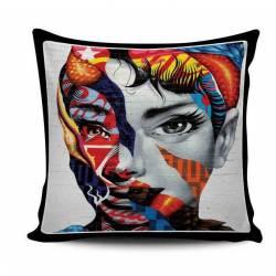 Audrey Hepburn Wall Art Pillow
