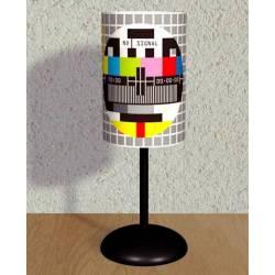 PAL Test Pattern Printed Lampshade