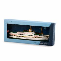 Istanbul Bosphorus ferry model Barış Manco Ferry