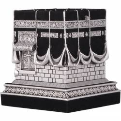Decorative Kaaba miniature figurines Silver