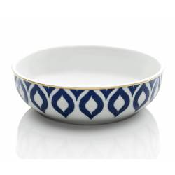 Drops in blue bowls 18