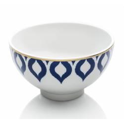 Drops in blue bowls 13 cm
