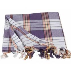 Traditional Peshtemal Classic - Hammam Style - Purple