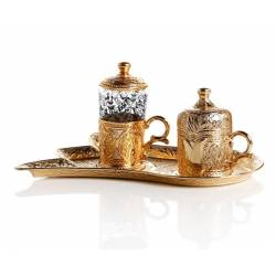 Lalezar Pleasure Charm Set Gold Yellow