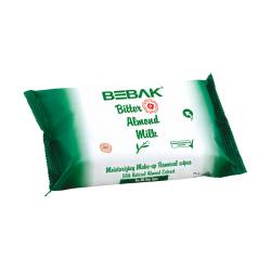 BEBAK BITTER ALMOND MAKE-UP REMOVER WIPES (20 PCS)