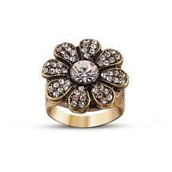 Authentic Daisy Design Bronze Ring