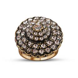 Authentic Mushroom Design Bronze Ring