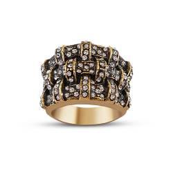 Authentic Custom Design Bronze Ring