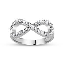 925 Sterling Silver Infinite Love Rings