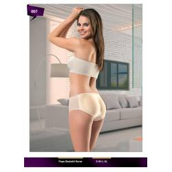 Corset with back support