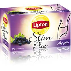 Lipton Slim Plus Weight Loss Tea with Acai palm