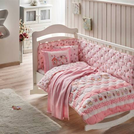 Crown Ranforce Sweet Bird Baby Sleep Set with Blankets