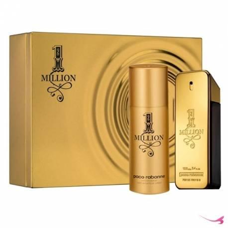 Paco Rabanne One Million EDT 100 ml & Deodorant 150 ml