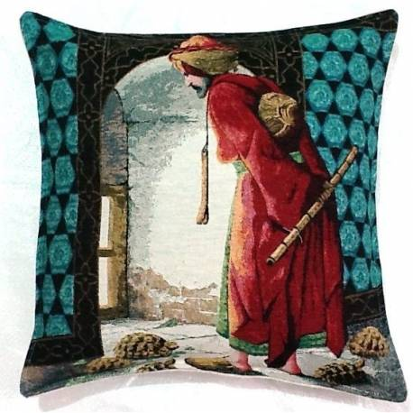 Ottoman tapestry pillows cases