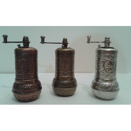 Handmade Turkish Coffee, Salt and Spice Grinder