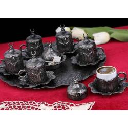 Ottoman Patterned Coffee Cups Set