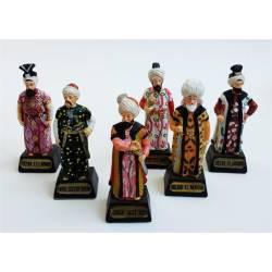 6 pieces Ottoman Sultan Trinket