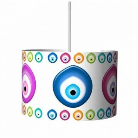 Evil eye Droop Lamp Chandelier
