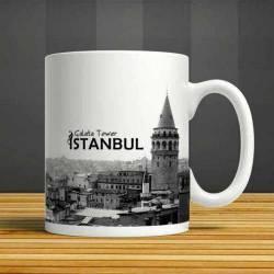 Istanbul Galata Tower Ceramic Cups, Mug