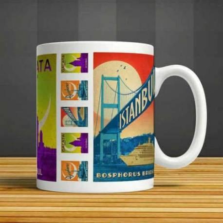 Design Istanbul Ceramic Cups, Mug