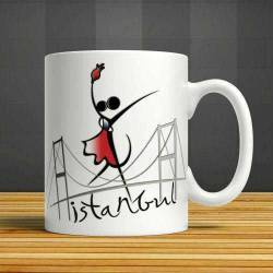 Dance in Istanbul Ceramic Cup Mug