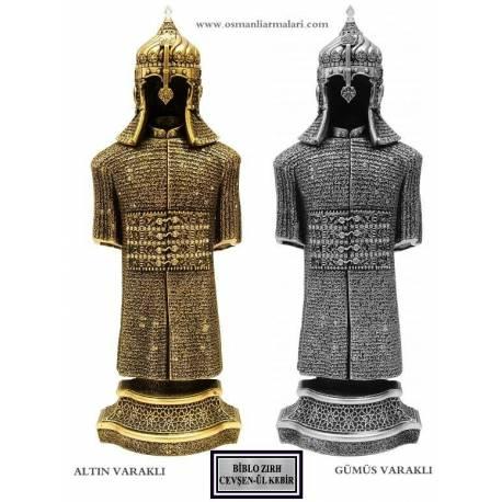 Cevsen-ul Kebir Quran verse Ottoman armor trinket