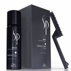 Wella Sp Men Pigment Mousse Black Brown Gradual Tone 60ML