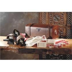 Hurrem Sultan (Roxelana) Handmade Clog , Naleyn Set