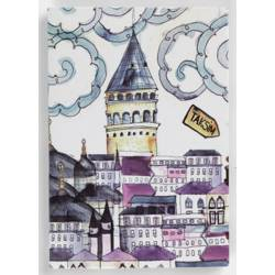 Istanbul Galata Tower Magnet