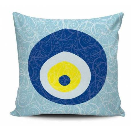 Evil Eye Decorative Pillow