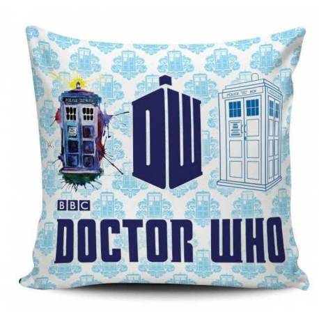 Doctor Who Decorative Pillow
