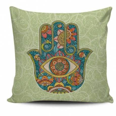 The Hand of Fatima Decorative Pillow