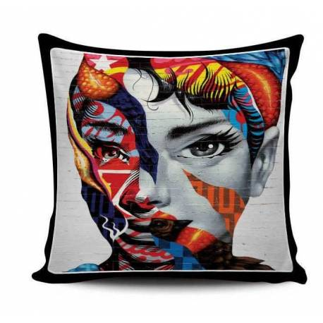 Audrey Hepburn Wall Art Pillow