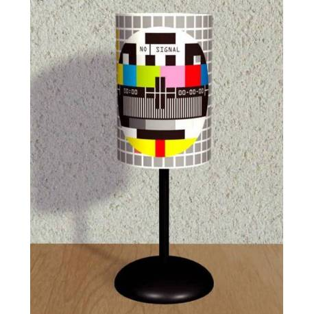 PAL Test Pattern Printed Lampshade