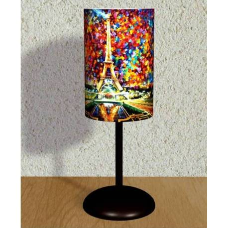 Colorful Eiffel Printed Lampshade