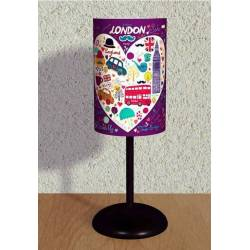 Iconic London Printed Lampshade
