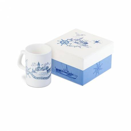 My route Istanbul Porcelain Mug
