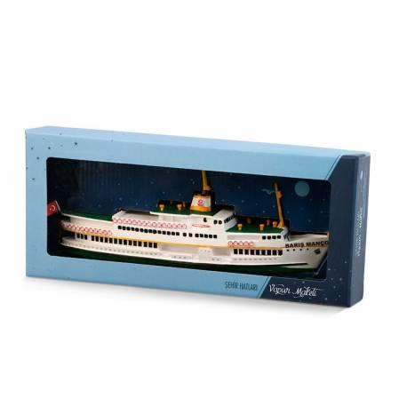 Istanbul Bosphorus ferry model