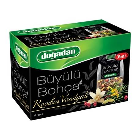 Mixed Herbal Tea with Rooibos and Vanilla