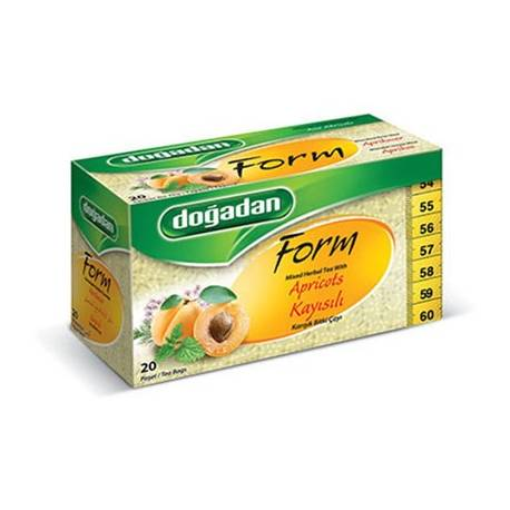 Mixed Herbal Weight Loss Tea with Apricot