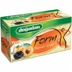Mixed Herbal Dogadan Form Tea with Apricot & Plum
