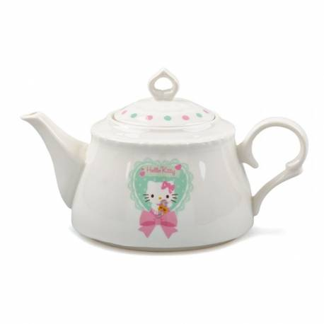 Hello Kitty Soft Green Porcelain Teapot