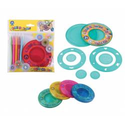 Wholesale Lots Spirograph Set and 5 color pencils