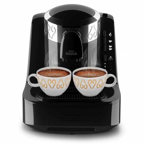 Arzum Okka Turkish Coffee Machine Chrome Black